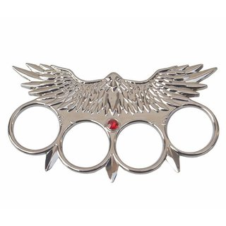 Prijam Punch Eagle Master Silver Knuckle Punch Showpies Blade Size 11 Cm