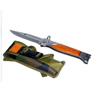 Prijam AK-47 Heavy Foldable 27cm Pocket Knife For Camping Hiking Survival