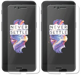 Mobik Tempered Glass For OnePlus 5 - Pack Of 2