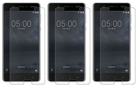 Mobik Tempered Glass For Nokia 5 - Pack Of 3