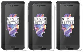Mobik Tempered Glass For OnePlus 5 - Pack Of 3