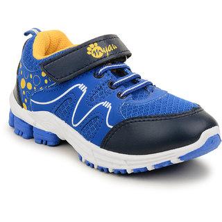 MYAU Boys Girls Velcro Closure Running Shoes