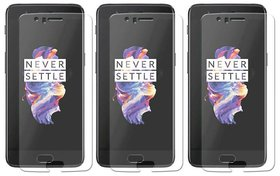 Deltakart Tempered Glass For OnePlus 5 - Pack Of 3
