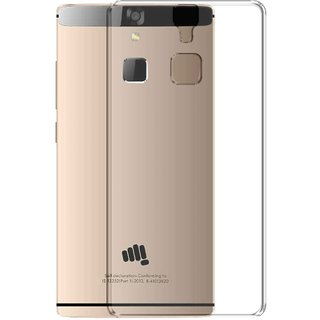 Mobik Back Cover For Micromax Canvas 6 E485 Transparent