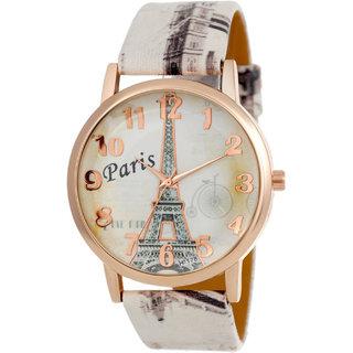 PARIS FASHION FANCY BELT FRESH FASHION DIGITAL PRINT Analog Watch - For Women