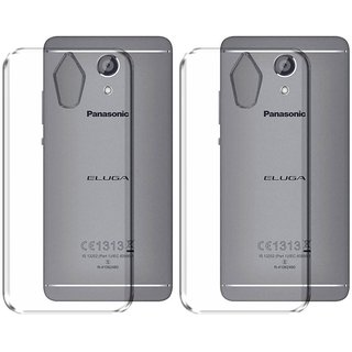 differently 7e680 b2fcb Mobik Back Cover for Panasonic Eluga Ray Max (Transparent, Grip Case)