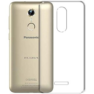 Deltakart Back Cover For Panasonic Eluga Pulse Transparent
