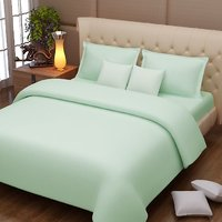 Bombay Mills Combo Pack Of 2 Cotton Double Bed Sheet With 4 Pillow Covers - 5 Option