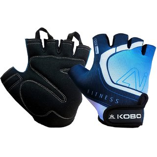 Kobo Gym Gloves / Fitness Weight Training Hand Protector (Small)