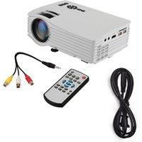 IBS  Mini Projector Full Color AV/USB/HDMI 1080P Home C