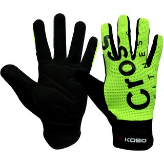 Kobo Cross Fitness Professional Training Gym Gloves / Functional Training Hand Protector (Small)