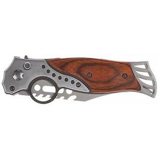 Prijam wooden button knife 420 model Pocket Saw