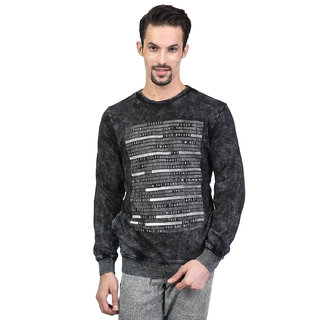 Octave Men's Sulphur Black Sweatshirt