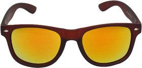 Adam Jones Premium Red Mercury Matt Finish UV 400 Wayfarer Sunglasses for men and women