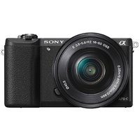 Sony Alpha A5100L 24.3MP Digital SLR Camera (Black) Wit