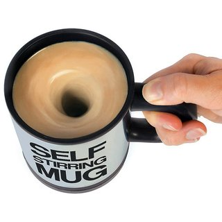 Auto mixing self stirring Coffee Mug - 400 ml