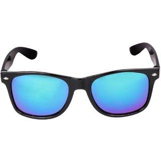 2a6c84f18fc Buy Adam Jones Blue Mercury  Mirrored Wayfarer Sunglasses For Men And Women  (Black Frame) Adam Jones Blue Mercury  Mirrored Online - Get 76% Off