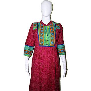 Marron Color Formal wear Kurti