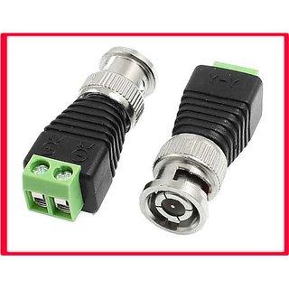 CCTV Video Camera BNC Plug Connector