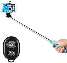 Bluetooth Selfie Stick (Assorted Color)
