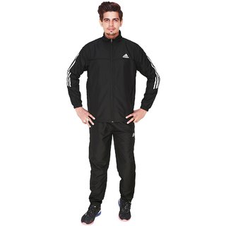 1cf471723db3 Buy Adidas Essentials Black Woven Tracksuit Online - Get 54% Off