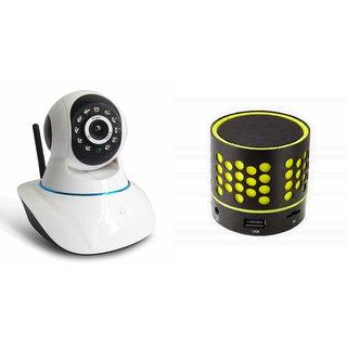 Zemini Wifi CCTV Camera and S10 Bluetooth Speaker for XOLO WIN Q 1000(Wifi CCTV Camera with night vision |S10 Bluetooth Speaker)