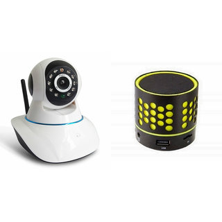 Zemini Wifi CCTV Camera and S10 Bluetooth Speaker for REDMI NOTE 4(Wifi CCTV Camera with night vision |S10 Bluetooth Speaker)