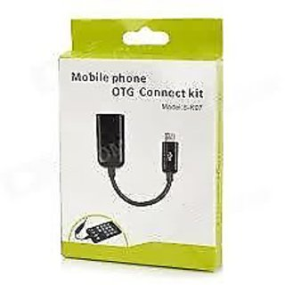 Micro USB Host OTG Cable for Samsung Nokia Motorola (S-K07)