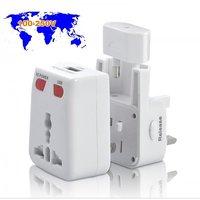 Heavy Duty World Travel Adapter With USB Charging Port Au Eu Us Uk