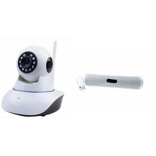 Mirza Wifi CCTV Camera and B13 Bluetooth Speaker for REDMI NOTE 4(Wifi CCTV Camera with night vision  B13 Bluetooth Speaker)