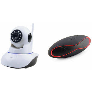 Buy Mirza Wifi CCTV Camera and Rugby Bluetooth Speaker for GIONEE F103(Wifi CCTV Camera with night vision |Rugby Bluetooth Speaker) Online - Get 76% Off