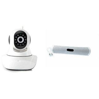 Zemini Wifi CCTV Camera and B13 Bluetooth Speaker for LENOVO a516(Wifi CCTV Camera with night vision |B13 Bluetooth Speaker)