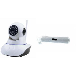 Zemini Wifi CCTV Camera and B13 Bluetooth Speaker for MOTOROLA droid maxx (Wifi CCTV Camera with night vision  B13 Bluetooth Speaker)