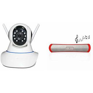 Zemini Wifi CCTV Camera and B13 Bluetooth Speaker for MOTOROLA moto g (gen 2) lte(Wifi CCTV Camera with night vision |B13 Bluetooth Speaker)