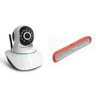 Zemini Wifi CCTV Camera and B13 Bluetooth Speaker for MOTOROLA moto x (gen 2)(Wifi CCTV Camera with night vision |B13 Bluetooth Speaker)