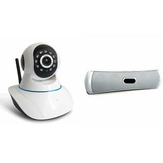 Zemini Wifi CCTV Camera and B13 Bluetooth Speaker for LG class(Wifi CCTV Camera with night vision  B13 Bluetooth Speaker)