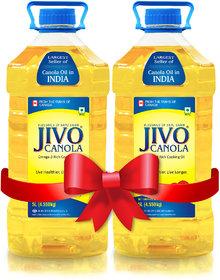 Jivo Canola Refined Edible Oil 5+5 Liter