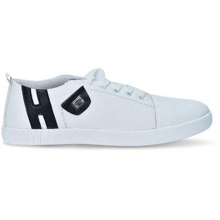 3008552e5c8 Buy Js Mens Black Canvas Sneakers Fashion Casual Shoes Online ...