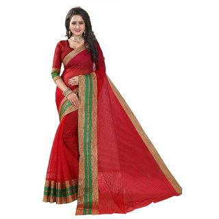 Taadrashya Polly Cotton Saree/sari