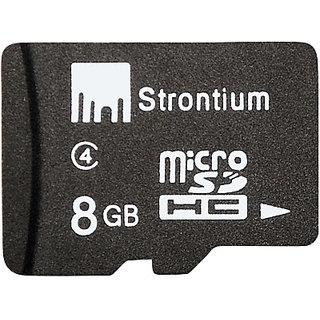 Strontium 8GB MicroSD Memory Card Class 4