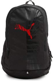 Puma 15.6 Laptop Backpack with Red Puma Logo