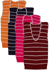 BEUNEW inner wear sweaters for boys and girls(Pack of 4)