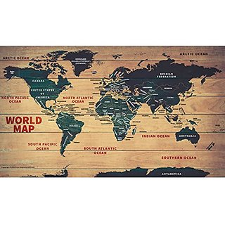 Buy world wood map 31 x 52 vinyl print wall chart 2017 edition world wood map 31 x 52 vinyl print wall chart 2017 edition gumiabroncs Image collections