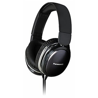 Panasonic RP-HX350ME-K Over The Ear Wired Headphone With Stereo Black