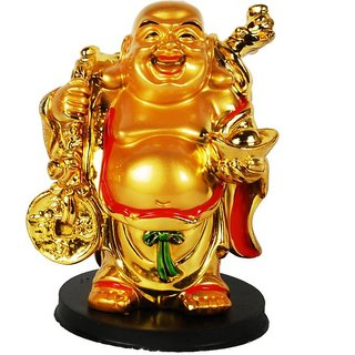 Smiley Laughing Buddha for Car Dashboard