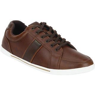 Red Tape Men Brown Sneakers
