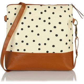 Beautiful Polka dots Cross Body Sling Bag for Girls / Women