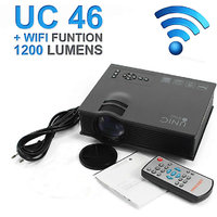 UNIC UC46 LED Wifi Projector HD 1080p-HDMI/SDCard/AV/US
