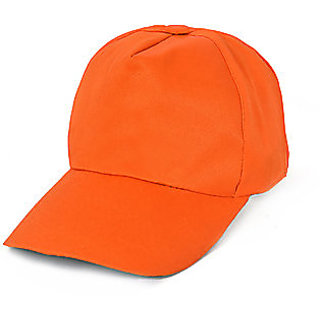 Buy Solid Orange Colour Sports Cap for Men Online   ₹199 from ShopClues 5b03a765403
