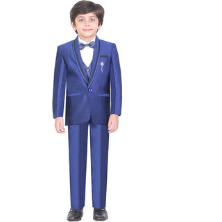 Jeet Blue Coat Suit for Boys